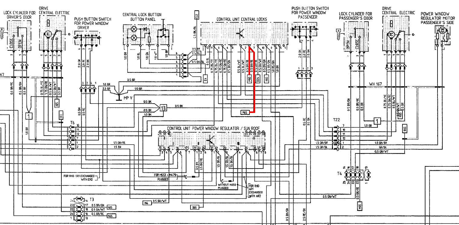 90S4centrallocks01 1983 porsche 944 wiring diagram porsche sensor diagram \u2022 wiring 1987 porsche 944 fuse box diagram at n-0.co